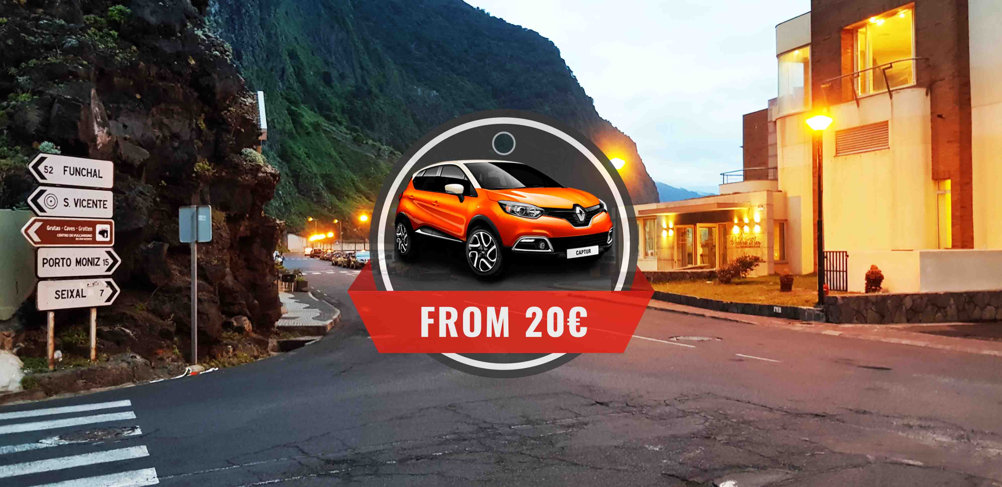 Sao Vicente Car Rental Local Rent A Car In Madeira Low Cost Prices
